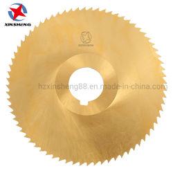 Tecla de lâmina de serra circular HSS Fresa para aço cobre ferro metálico