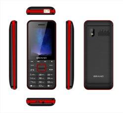 熱い販売2.4インチOEM棒電話卸売25bi大きい電池が付いている安くロック解除された機能電話
