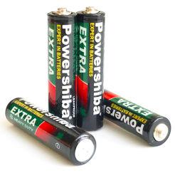 La norma IEC estancos más duradera de Super alta resistencia de tensión de 1,5 de Zinc de carbono tamaño AAA suma-3 R03 Batería de coche eléctrico / Juguetes / mando a distancia