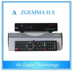 Linux OS UC élevée enigma2 DVB-S2 du récepteur satellite Zgemma H. S AVEC CARTE SD 8 Go gratuit