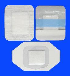 PU Film médico Cuidado de Heridas vestirse con Non-Woven almohadilla absorbente