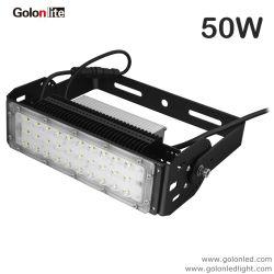 La Chine prix d'usine 50W Module à LED pour l'étanche extérieur projecteur puce crie 130lm/Watt Rue lumière IP65 Projecteur eclairage tunnel