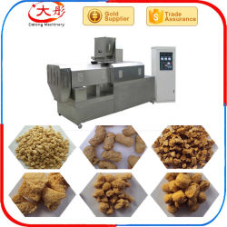 Tsp Tvp에 의하여 무늬를 짜넣은 조직 간장 단백질은 기계를 형성하는 공정 라인 작은 파이 햄버거 작은 파이 기계 작은 파이를 만드는 기계 음식 장비 Soyabean 덩어리를 다진다