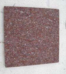 Piedra de granito de pórfido rojo flameado Cube adoquines para pisos