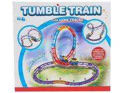 B/O железнодорожных поездов поезда, пластмассовые игрушки (H6252003)