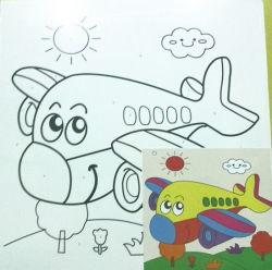 Giocattolo educativo personalizzato di DIY Digitahi della pittura a olio non tossica operata della tela di canapa per i bambini