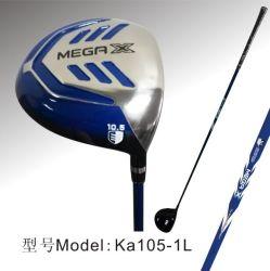 Club di golf dell'asta cilindrica del carbonio di Caiton Ka105-1L per pratica