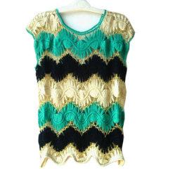 新しい豪華な女性の円形の首のかぎ針編みSweatershirt
