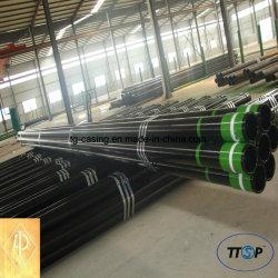 API-5CT/5b Seamless Oil Pipe Carter et de tubes OCTG Pipe Oilfield Services J55/K55/N80/L80/P110/C95/T95/80s.