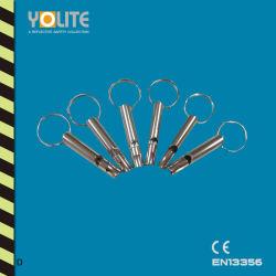 Gancio del fischio del metallo, Keychain, decorazione del fischio di Matel di alta qualità