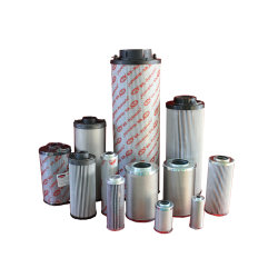 Fibre de verre /papier /Wire Mesh 25microns à l'élément de filtre/filtre à huile hydraulique