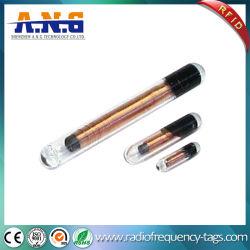 De duidelijke Markering van het Glas RFID van LF Passieve/Dierlijke Volgende Markeringen Zonder contact met Spuit
