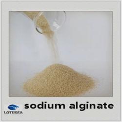 Viscosité moyenne de l'alginate de sodium de grade Textiles de gros de coller l'Agent d'impression