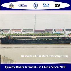 Bestyear 44,8 m carico di nave cargo di fiume di acciaio 800ton diesel di bordo Motore