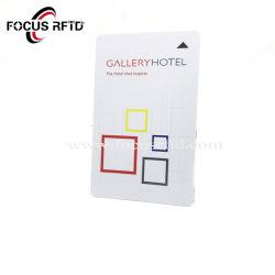 RFID Mifare 1K Smart ID carte IC Carte Prépayée Hôtel en plastique de la Key Card Carte de conditionnement physique