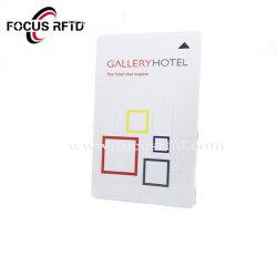 MIFARE 1K 지능적인 RFID 카드 ID IC에 의하여 선불되는 카드 플라스틱 호텔 키 카드 적당 카드
