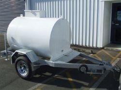 als Standaard Mobiele Aanhangwagens van de Tank van de Diesel