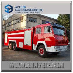 Shacman Aolong 6X4 10-15cbm Acqua e Schiuma fuoco Tenero