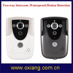 2 Таким образом внутренняя связь WiFi видео двери поддержки по телефону 8 смартфоны