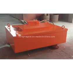 Separador magnético eléctrico Industrial rectangular para material de hierro