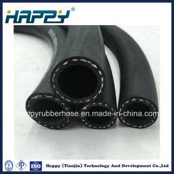 La norme DIN EN 854 1te tresse textile unique haute pression hydraulique renforcée flexible en caoutchouc
