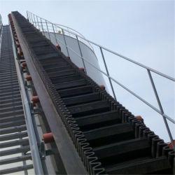 Paroi latérale du convoyeur à courroie verticale pour le secteur minier