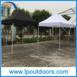10X10' Châssis en acier à six pans de plein air tente pop up de la canopée de pliage