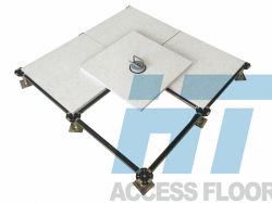 HPL Coving Woodcoreによって上げられるアクセス床