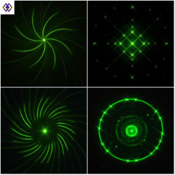 OEM Vier Patronen voor Lichte Ceramische Grating van de Laser van de Lens van de Pijp