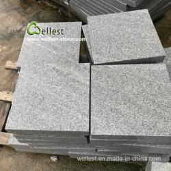 G633 Azulの壁または床のクラッディングのための灰色の花こう岩のタイル