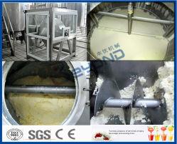 Complete apparatuur voor het maken van verse melkboter