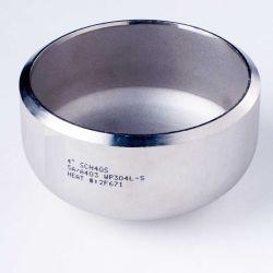 La norme ANSI B16.9 ASTM A234 Wpb en acier au carbone/bouchon de raccord de tuyauterie en acier inoxydable