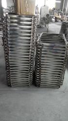 Estrutura em aço inoxidável personalizada, polimento do espelho ou acabamento cromado