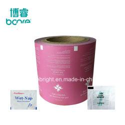 Kochsalztücher Verpackung Papier Aluminiumfolie Papierrolle für Nagelpole Entfernen von Wischtüchern