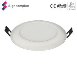 """4 """" 6 """"防水LEDのパネルの円形の天井板は3つの保証年の取付けられたライトを引込めた"""