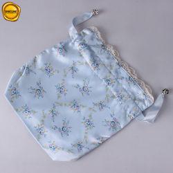 A lingerie Design agradável Sinicline Cordão sacos com Voile rendas