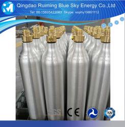 0.6L زجاجات ثاني أكسيد الكربون صودا ثاني أكسيد الكربون أسطوانة الألومنيوم صودا صانع الصودا لمدة غاز ثاني أكسيد الكربون