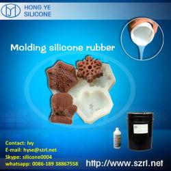 Het Rubber van het Silicone van de Behandeling van het platina voor de Vormen van de Cake