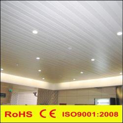 金属アルミニウム線形Cのストリップによって中断される偽の装飾的な天井