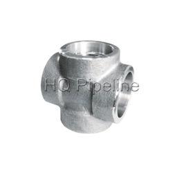 Raccordi per tubi in acciaio inox forgiato/croce per saldatura a presa