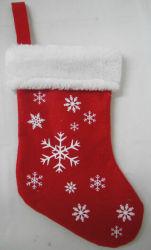 Nouveau design chaussette de Noël OEM en peluche