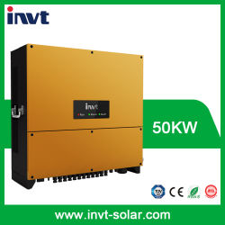 Omschakelaar In drie stadia van de ZonneMacht van Invt 50kw/50000W de net-Gebonden voor het Systeem van de ZonneMacht