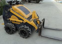 Les chinois à bas prix ferme de jardin 4 roues Mini chargeur Skid Steer de l'utilitaire équipement du véhicule