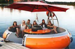 China BBQ-Grill-Krapfen-elektrisches Freizeit-Boot