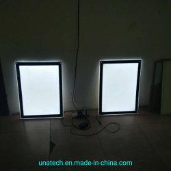 Uso interno promozione acrilica Pubblicità LED Media Crystal Light Box
