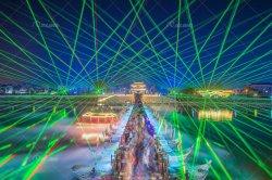 Het regendichte OpenluchtLicht van de Laser 30watts met Haven Artnet/DMX/Ilda