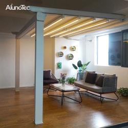 Tenda ritrattabile esterna motorizzata impermeabile del PVC di bellezza con l'indicatore luminoso del LED o lo schermo laterale