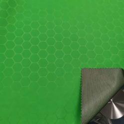 Tricot het Stof In entrepot van de Polyester van de Pongézijde van het Rooster RPET van de voetbal met de Deklaag van Pu
