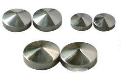 Pierre de germanium pur à 99,999 % avec une taille différente