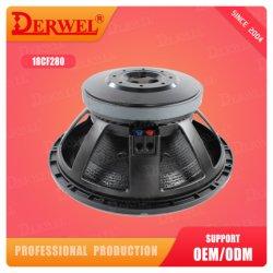Grosser Magnet-Fachmann angeschaltener Lautsprecher 4000watt, 5inch Vc, RO-Audiolautsprecherfahrer Subwoofer des Lautsprecher-18inch 280